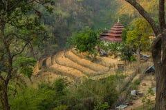 The Thailand Burma border. At Wiang Haeng, Chiang Mai, Thailand Royalty Free Stock Image