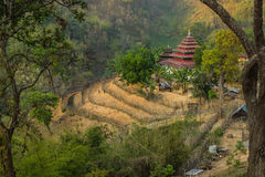 The Thailand Burma border Royalty Free Stock Image