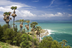 Thailand Cape. View from the Phrom Thep Cape, Phuket Island, Thailand Stock Images