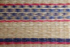 Thailand carpet texture Royalty Free Stock Photos