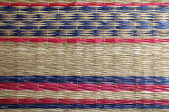 Thailand carpet texture Royalty Free Stock Images