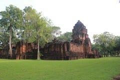 Thailand castle. Prasat Muang Sing. Kanchanaburi is rich in culture Stock Image