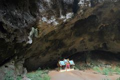 Thailand cave Stock Image
