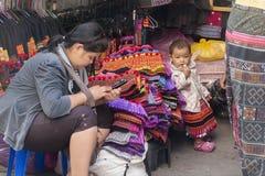 Thailand Chiang Mai Ethnic minoriteter fotografering för bildbyråer