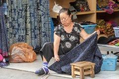 Thailand Chiang Mai Ethnic minoriteter arkivbilder