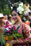 Thailand Chiang Mai Flower festival Royalty Free Stock Photos