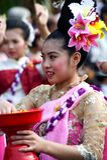 Thailand Chiang Mai Flower festival stock photos