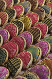 Thailand, Chiang Mai, hand made oriental wallets Royalty Free Stock Photography