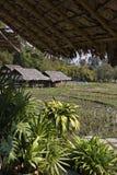 Thailand, Chiang MAI, het Long Neck dorp van Karen stock afbeelding