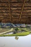 Thailand Chiang Mai, Karen lång halsby Fotografering för Bildbyråer