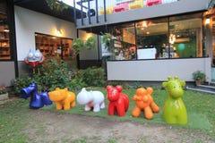Thailand Chiang Mai street view Stock Photo