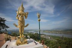 THAILAND CHIANG RAI GOLDEN TRIANGLE SOP RUAK WAT Royalty Free Stock Image