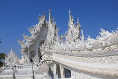 Thailand Chiang Rai White Temple, Wat Rong Khun Royalty-vrije Stock Afbeeldingen