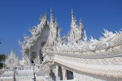 Thailand Chiang Rai White Temple, Wat Rong Khun royalty-vrije stock afbeeldingen