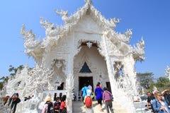 Thailand Chiang Rai White Temple, Wat Rong Khun Royalty Free Stock Photos