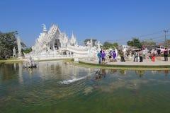 Thailand Chiang Rai White Temple, Wat Rong Khun Royalty Free Stock Image