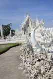 Thailand Chiang Rai White Temple, Wat Rong Khun Royalty Free Stock Photo