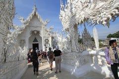 Thailand Chiang Rai White Temple, Wat Rong Khun Stock Photos