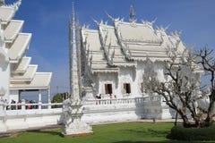 Thailand Chiang Rai White Temple, Wat Rong Khun Royalty Free Stock Photography