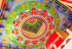 Drum and ring ceiling in traditional chinese style Stock Image
