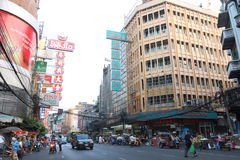 Thailand : Chinatown Royalty Free Stock Photography