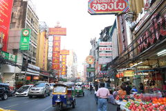Thailand: Chinatown Stock Foto