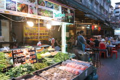 Thailand : Chinatown Royalty Free Stock Photos