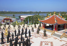 Thailand. Chinese temple in Pattaya. Royalty Free Stock Image