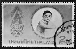 Thailand - CIRCA 1997:A stamp printed in Thailand shows royal initiated projects, circa 1997 Stock Image