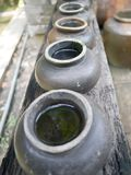Thailand Clay Jar Royalty Free Stock Images