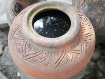 Thailand Clay Jar Royalty Free Stock Photography