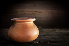 Thailand Clay Jar for Stored of thai food, Royalty Free Stock Photography