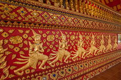 Thailand clear Maisong De temple hall Royalty Free Stock Image