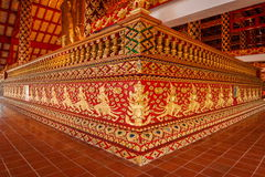 Thailand clear Maisong De temple hall Stock Photo