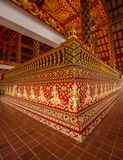Thailand clear Maisong De temple hall Royalty Free Stock Photo