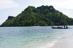 Thailand. The coast near Krabi Town in Thailand Stock Photography