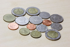 Thailand coil money Royalty Free Stock Photo
