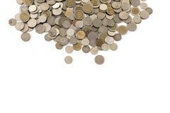 Thailand coins on white Background Stock Photos