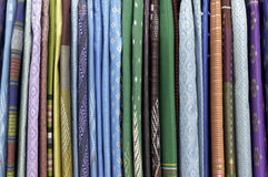 Thailand colorful fabrics Royalty Free Stock Images