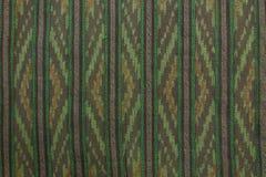 Thailand Cotton Fabric. Art handmade Stock Photo