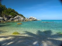 Thailand Crystal Clear Beach Royalty Free Stock Images