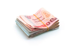 Thailand currency Stock Photography