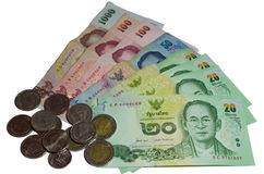 Thailand Currency Bath Royalty Free Stock Images