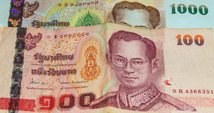 Thailand Currency Bath Stock Images