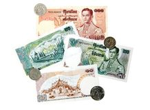 Thailand Currency and Coinage Stock Photos