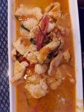 Thailand curry arkivfoton