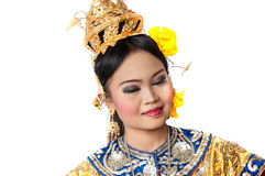 """Thailand Dancing art """"Khon"""" that high class of dance in Siam Royalty Free Stock Photo"""
