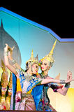 "Thailand Dancing art called ""Khon"" Stock Photography"