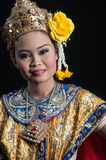 "Thailand Dancing art ""Khon"" that high class of dance in Siam Stock Photography"