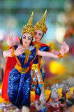 Thailand Dancing Doll. Traditional Dancing Doll in Thailand Stock Image